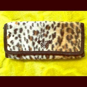 Roxy Leopard Print Wallet